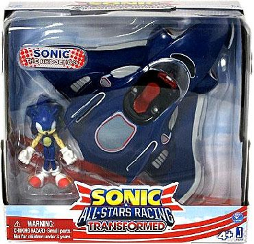 Sonic The Hedgehog Sega All-Stars Racing Transformed Sonic with Plane Figure Set