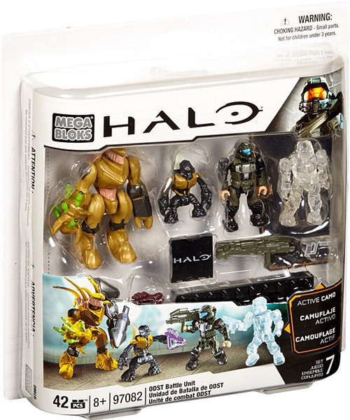 Mega Bloks Halo ODST Battle Pack Set #97082