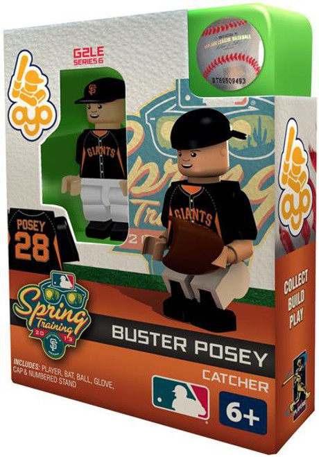 San Francisco Giants MLB Generation 2 Series 6 Buster Posey Minifigure [Spring Training]