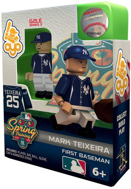 New York Yankees MLB Generation 2 Series 3 Mark Teixeira Minifigure [Spring Training]