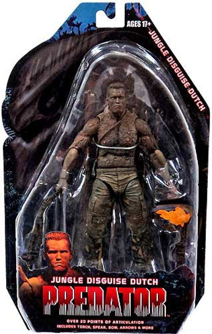 NECA Predator Series 9 Jungle Disguise Dutch Action Figure