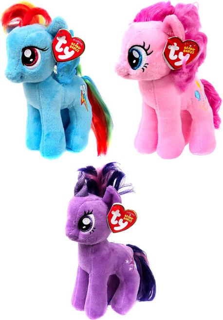 My Little Pony Beanie Baby Set