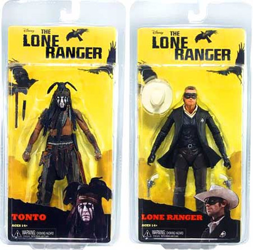NECA The Lone Ranger Series 1 Set of 2 Action Figures