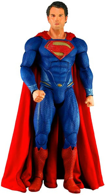 NECA Man of Steel Quarter Scale Superman Action Figure