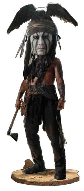 NECA The Lone Ranger Head Knockers Tonto Bobble Head