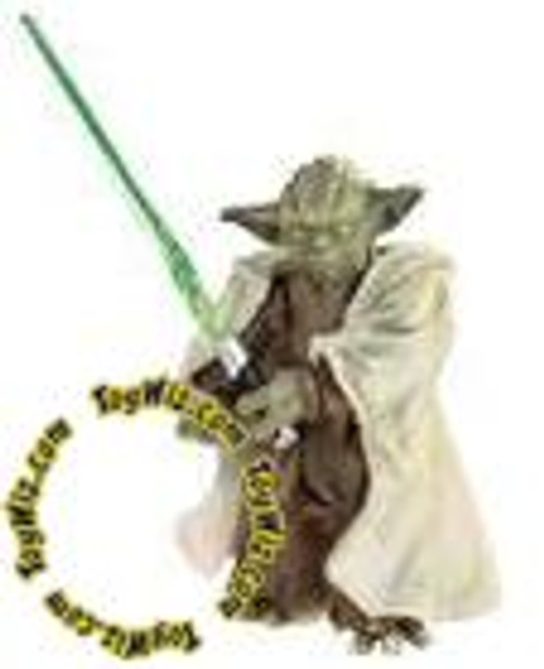 Star Wars Attack of the Clones Saga Legends 2007 30th Anniversary Yoda Action Figure #3