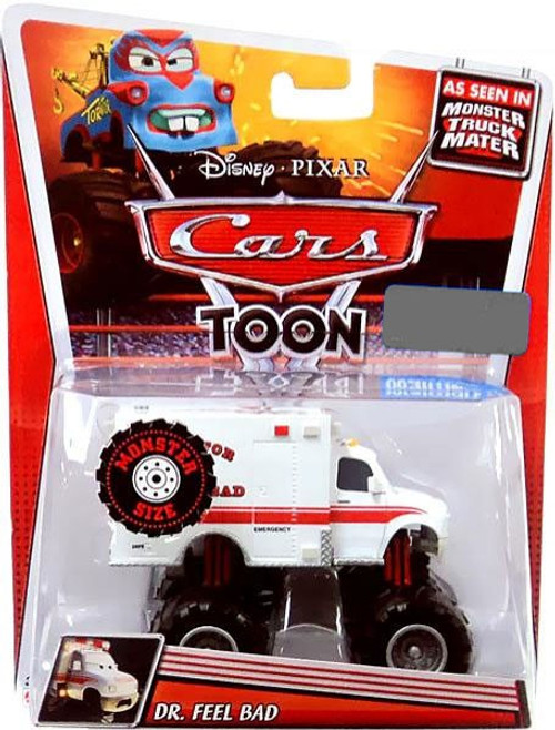 Disney Cars Cars Toon Deluxe Oversized Dr. Feel Bad Exclusive Diecast Car [Monster Size]
