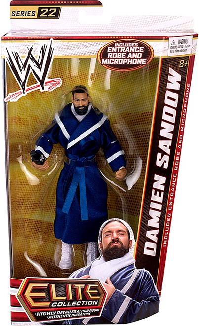 WWE Wrestling Elite Series 22 Damien Sandow Action Figure [Entrance Robe & Microphone]