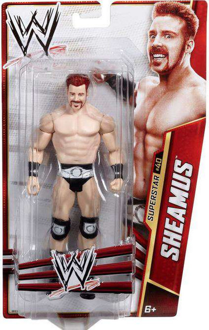 WWE Wrestling Series 30 Sheamus Action Figure #40