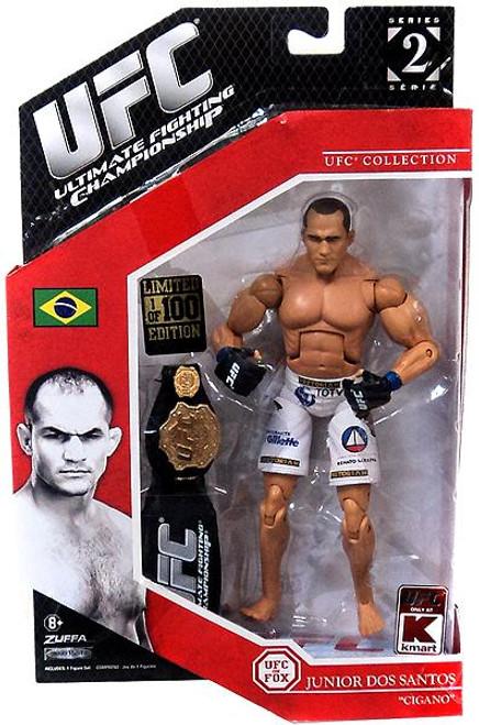 UFC Collection Exclusives Series 2 Junior Dos Santos Exclusive Action Figure [1 of 100]