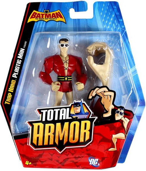 Batman The Brave and the Bold Total Armor Trap Hand Plastic Man Action Figure