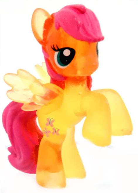 My Little Pony Series 6 Fluttershy 2-Inch PVC Figure