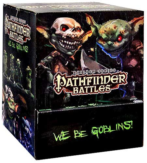 Pathfinder Battles We Be Goblins Miniatures Box