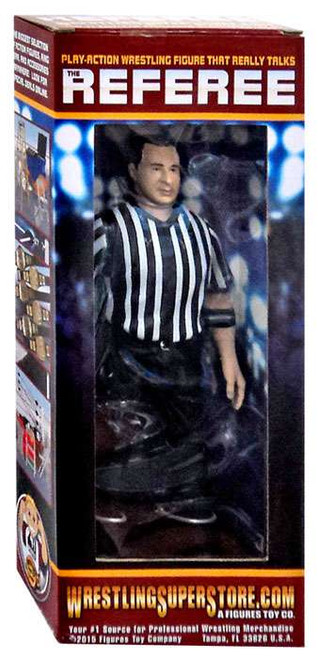 WWE Wrestling Three Counting and Talking Wrestling Referee Action Figure