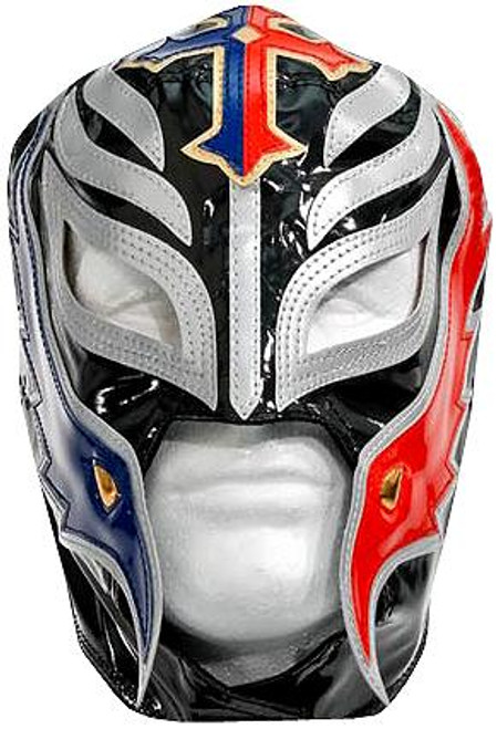 WWE Wrestling Costumes Rey Mysterio Replica Mask [Black, Red & Blue]