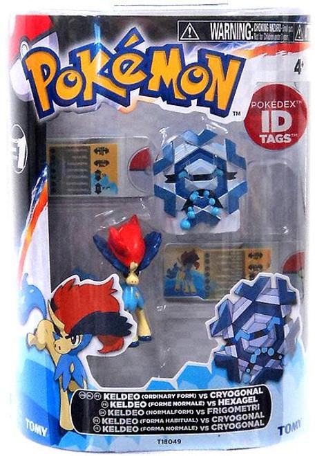 Pokemon Black & White Basic Keldeo vs. Cryogonal Figure 2-Pack