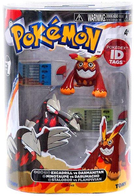 Pokemon Black & White Basic Excadrill vs. Darmanitan Figure 2-Pack