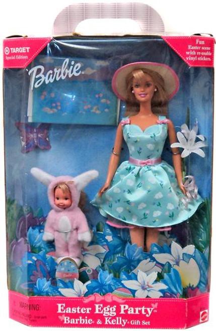 Barbie Easter Egg Party Doll Set
