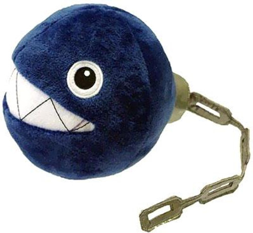 Super Mario Bros Chain Chomp 5-Inch Plush