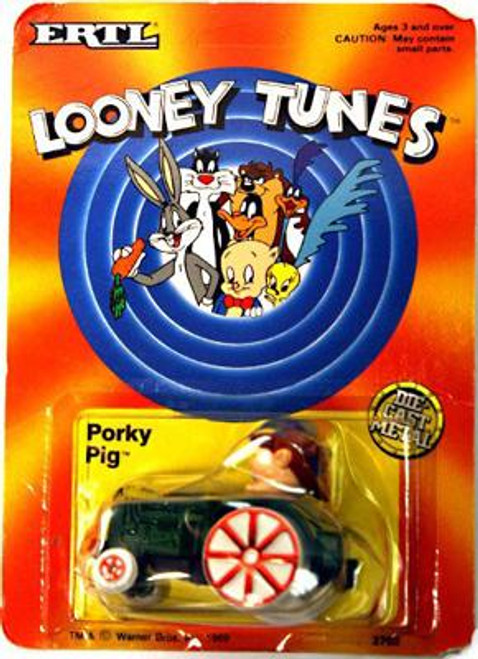 Looney Tunes Porky Pig Tractor Diecast Vehicle [Damaged Package]