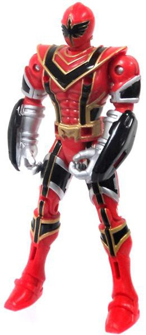 Power Rangers Mystic Force Legendary Battlized Red Ranger to Red Mystic Titan Action Figure [Loose]