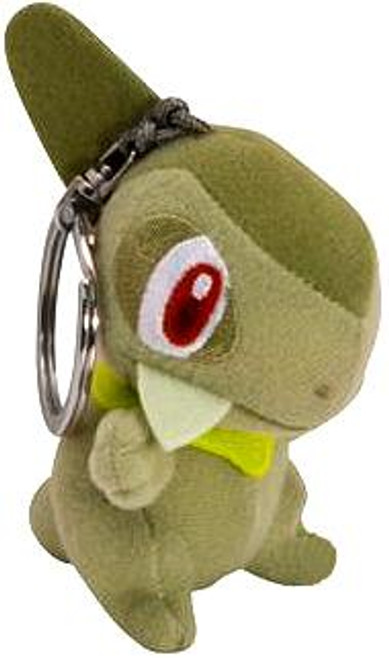 Pokemon Black & White 3.5 Inch Keychain Axew Plush Keychain
