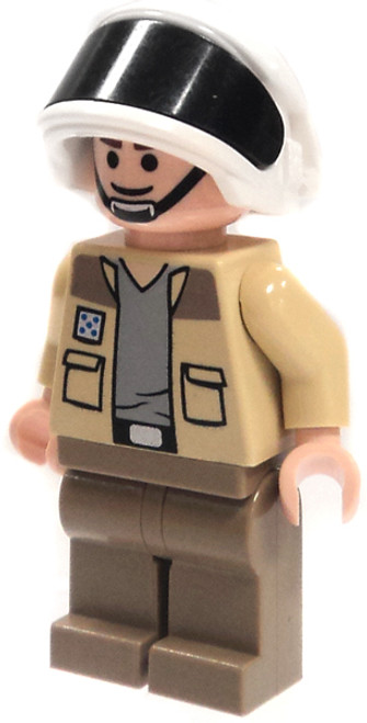LEGO Star Wars Loose Rebel Captain Antilles Minifigure [Loose]