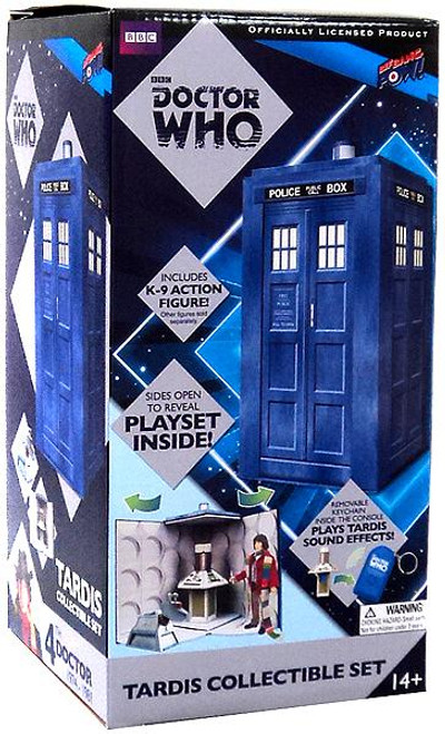 Doctor Who Tardis Collectible Set