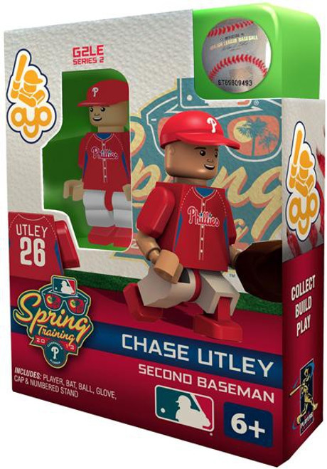 Philadelphia Phillies MLB Generation 2 Series 2 Chase Utley Minifigure [Spring Training]