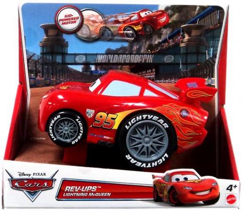 Disney Cars Rev-Ups Lightning McQueen Plastic Car