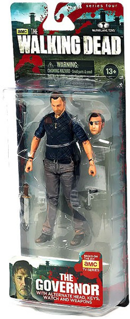 McFarlane Toys Walking Dead AMC TV Series 4 The Governor Action Figure