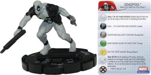Marvel HeroClix Giant Size X-Men LE Deadpool #103