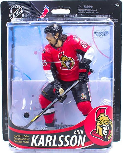 McFarlane Toys NHL Ottawa Senators Sports Picks Series 33 Erik Karlsson Action Figure [Red Jersey]