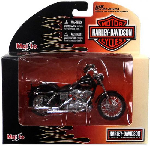 Harley-Davidson Motor Cycles 2002 FXDL Dyna Low Rider Diecast Vehicle
