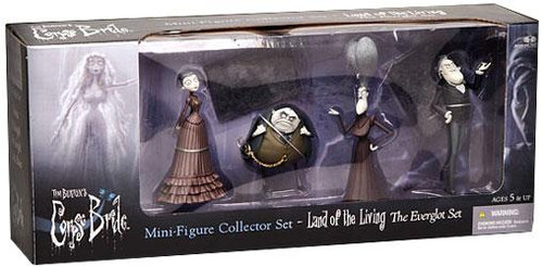 McFarlane Toys Corpse Bride Land of the Living The Everglot Set PVC Figures