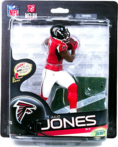 McFarlane Toys NFL Atlanta Falcons Sports Picks Series 33 Julio Jones Action Figure [Red Jersey]