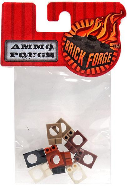 Brickforge Minifigure Parts Ammo Pouch 2.5-Inch Pack