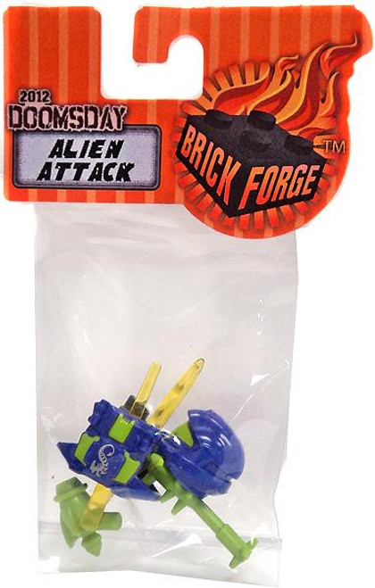 Brickforge 2012 Doomsday Minifigure Parts Alien Attack 2.5-Inch Pack
