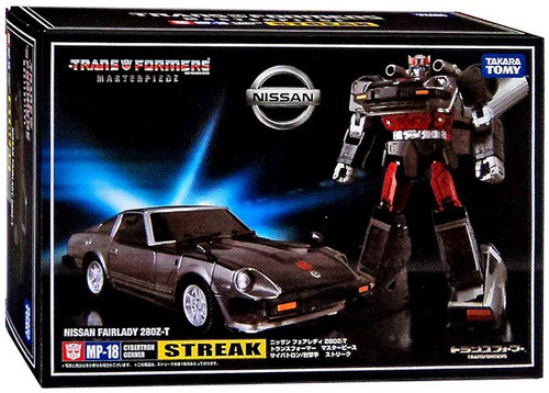 Transformers Japanese Masterpiece Collection Streak Action Figure MP-18 [Bluestreak]