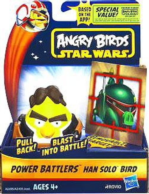 Star Wars Angry Birds Power Battlers Han Solo Bird