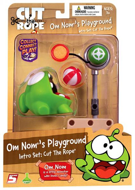 Om Nom's Playground Cut the Rope Intro Set