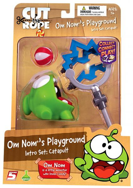 Cut the Rope Om Nom's Playground Catapult Intro Set