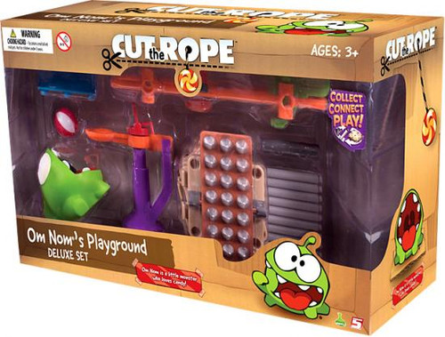 Cut the Rope Om Nom's Playground Deluxe Set