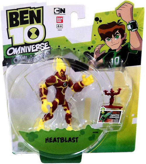 Ben 10 Omniverse Heatblast Action Figure
