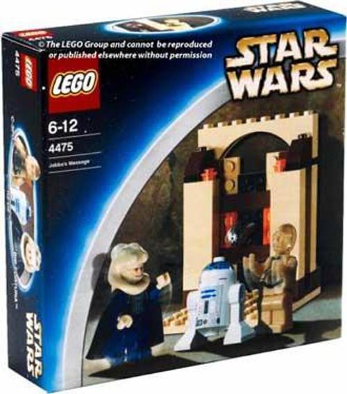 LEGO Star Wars Return of the Jedi Jabba's Message Set #4475 [New]