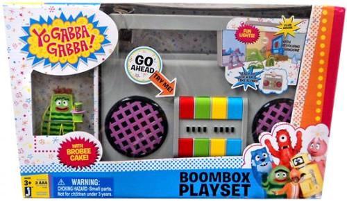 Yo Gabba Gabba Boombox Playset