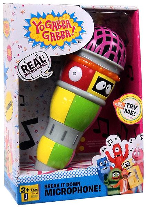 Yo Gabba Gabba Break it Down Microphone Roleplay Toy