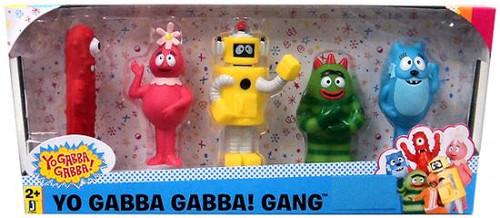 Yo Gabba Gabba! Gang Action Figure 5-Pack