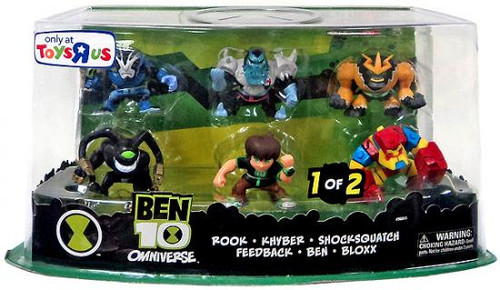 Omniverse Ben 10 Exclusive 2-Inch Mini Figure 6-Pack [1 of 2]