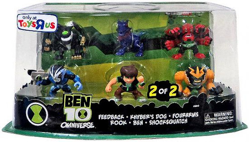 Omniverse Ben 10 Exclusive 2-Inch Mini Figure 6-Pack [2 of 2]